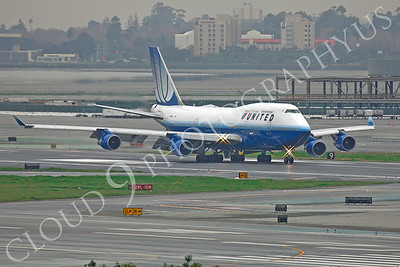B747 00453 Boeing 747 United by Peter J Mancus