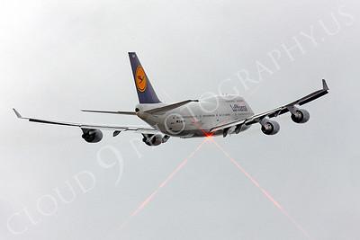B747 00140 Boeing 747 Lufthansa D-ABVW by Peter J Mancus