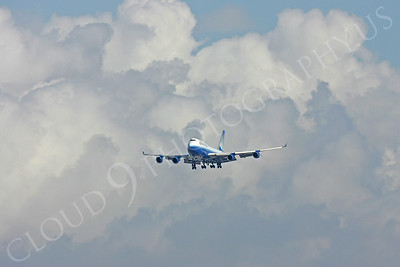 B747 00016 Boeing 747-400 United Airline by Peter J Mancus