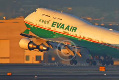 ALPCUN 00001 Boeing 747 Eva Air by Peter J Mancus
