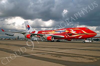 B747 00091 Boeing 747 Malaysia by Tim P Wagenknecht