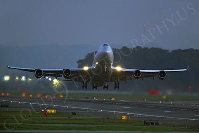 ALPN 00026 Boeing 747 Virgin America by Peter J Mancus