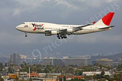 B747 00006 Boeing 747 Japan Airlines JA8915 by Peter J Mancus