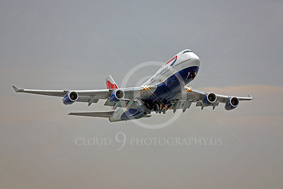 B747 00222 Boeing 747 British Airways by Peter J Mancus