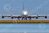 B747 01515 A head-on frontal view of a Boeing 747 United Airline as it turns to take a runway for take-off at SFO airliner picture by Peter J Mancus