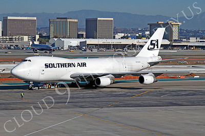 B747-C 00013 Boeing 747 Southern Air N753SA by Tim P Wagenknecht