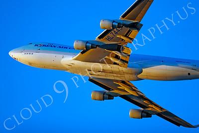 B747-C 00036 Boeing 747 Korean Air Cargo by Tim P Wagenknecht
