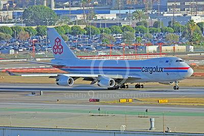 B747-C 00007 Boeing 747 Cargolux LX-NCV by Peter J Mancus