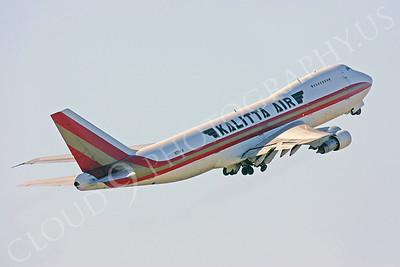 B747-C 00022 Boeing 747 Kalitta Air N714CK by Peter J Mancus
