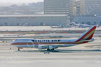B747-C 00003 Boeing 747 Kalitta Air N714CK by Peter J Mancus