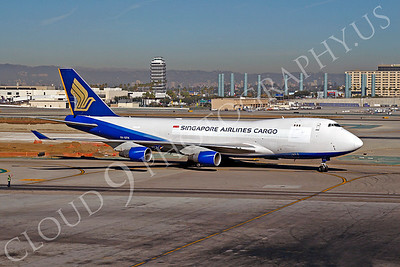 B747-C 00011 Boeing 747 Singapore Airlines Cargo 9V-SFH by Tim P Wagenknecht