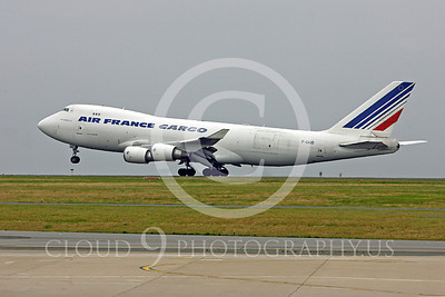 B747-C 00019 Boeing 747 Air France Cargo F-GIUD by Peter J Mancus