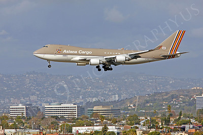 B747-C 00100 Boeing 747 Asiana Cargo HL7604 by Peter J Mancus