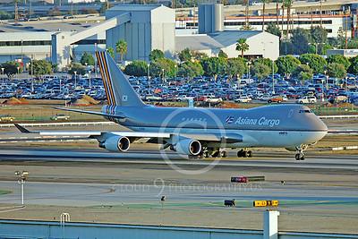 B747-C 00005 Boeing 747 Asiana Cargo HL7604 by Peter J Mancus