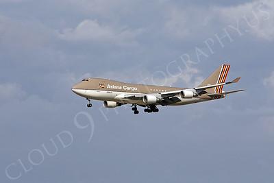B747-C 00068 Boeing 747 Asiana Cargo HL7604 by Peter J Mancus