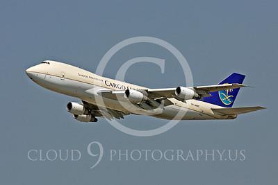 B747-C 00032 Boeing 747 Saudi Arabian Cargo TF-AMC by Peter J Mancus