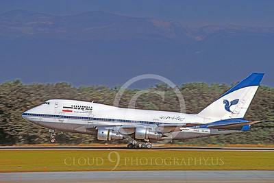 B747SP 00005 Boeing 747SP Iran Air EP-IAB August 1991 via African Aviation Slide Service