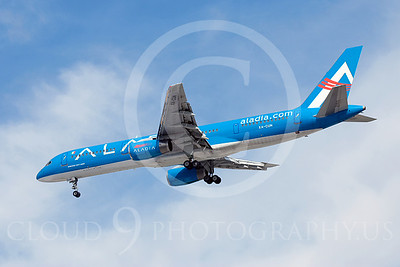 B757 00020 Boeing 757-200 Aladia XA-CUN by Dave Budd