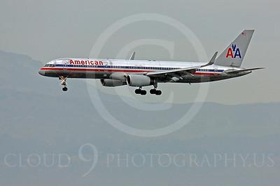 B757 00038 Boeing 757 American N195AN by Peter J Mancus