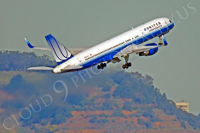 B757 00042 Boeing 757 United N517UA by Peter J Mancus