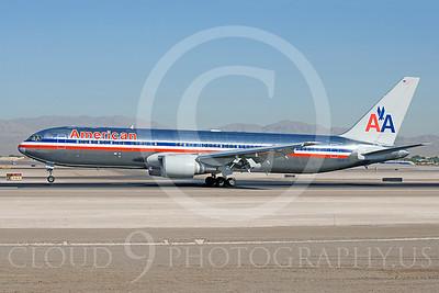 B767 00005 Boeing 767 American N387AM by Dave Budd