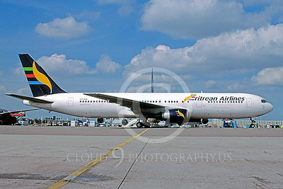 B767 00023 Boeing 767 Erietean Airlines E3-AAO April 2004 via African Aviation Slide Service