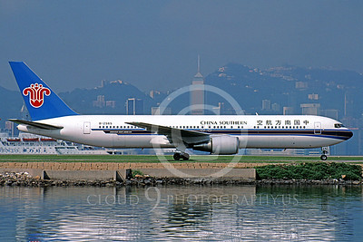 B767 00011 Boeing 767-300 ER China Southern B-2565 June 1997 by Peter J Mancus