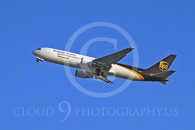 B767-C 00004 Boeing 767 UPS N307UP by Tim Wagenknecht