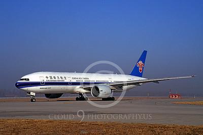 B777 00003 Boeing 777 China Southern B-2053 6 January 1998 by Peter J Mancus