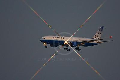 ALPN 00156 Boeing 777 United by Peter J Mancus
