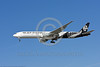 B777P 00034 A Boeing 777 jet airliner, Air New Zealand ZK-OKN, landing at LAX 11-2017, jet airliner picture by Carl E  Porter     DONEwt