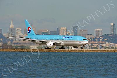 B777 00013 Boeing 777 Korean Air HL7752 by Peter J Mancus