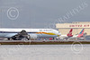 B777P 000578 A Boeing 777 Jet Airways taxis for take-off at SFO 12-2014 airliner picture by Peter J Mancus