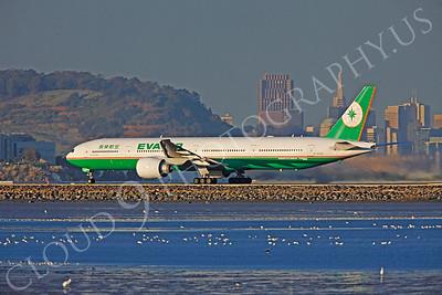 B777 00009 Boeing 777-300 Eva Air B-16706 by Peter J Mancus