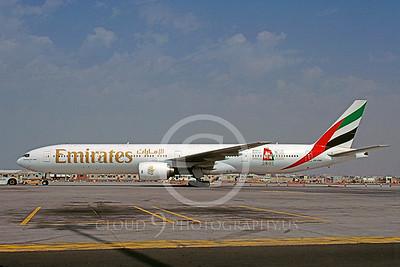 B777 00011 Boeing 777 Emirates A6-EMN April 2001 via African Aviation Slide Service