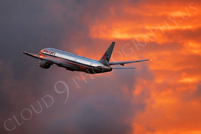 B777 00012 Boeing 777 American by Tim P Wagenknecht