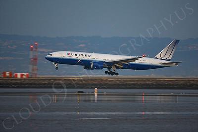 ALPN 00016 Boeing 777 United N795UA by Peter J Mancus