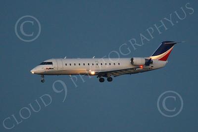 CRJ100 00006 Bombardier Canadair CRJ100 SkyWest N465SW by Peter J Mancus