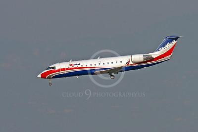 Bombardier Canadair CRJ 100 00002 SKY WEST N951SW by Peter J Mancus