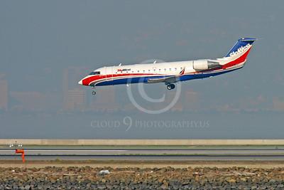 Bombardier Canadair CRJ 100 00032 SKY WEST N951SW by Peter J Mancus