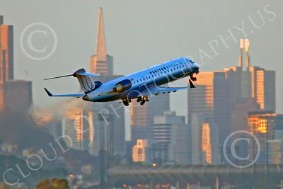 CRJ700 00066 Bombardier Canadair CRJ700 United Express by Peter J Mancus