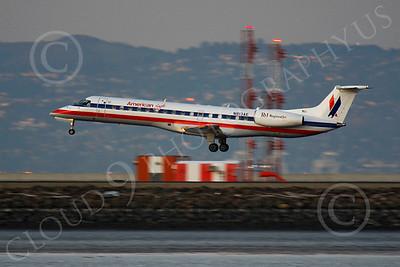 CRJ700 00098 Bombardier Canadian CRJ700 American Eagle N813AE by Peter J Mancus