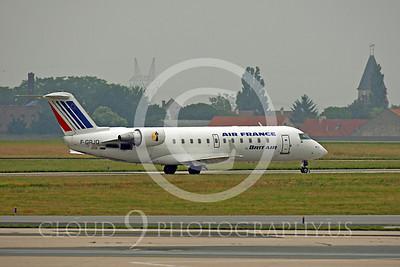 Bombardier Canadair CRJ200 00003 Bombardier Canadair CRJ200 Air France F-GRJQ by Peter J Mancus