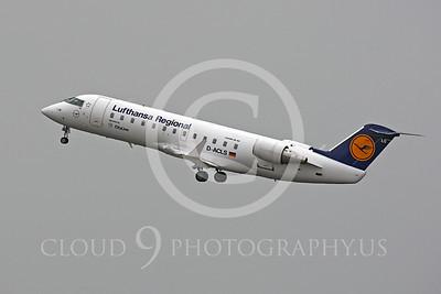 Bombardier Canadair CRJ200 00004 Bombardier Canadair CRJ200 Lufthansa Regional D-ACLS by Peter J Mancus