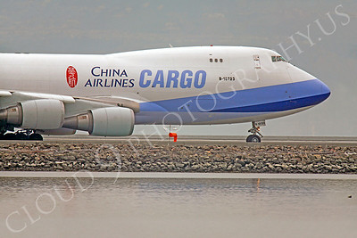 CUNAL-C 00127 Boeing 747 China Airlines Cargo B-18723 by Peter J Mancus