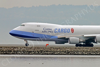 CUNAL-C 00053 Boeing 747 China Airlines Cargo B-18723 by Peter J Mancus