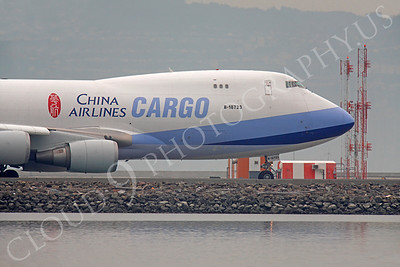 CUNAL-C 00105 Boeing 747 China Airlines Cargo B-18723 by Peter J Mancus