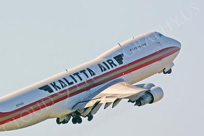 CUNAL-C 00100 Boeing 747 Kalitta Air N714CK by Peter J Mancus