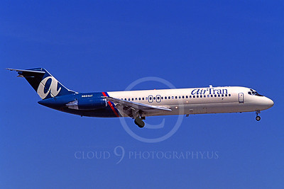 DC-9 00004 Douglas DC-9 Air Tran N824AT March 1999 by Peter J Mancus