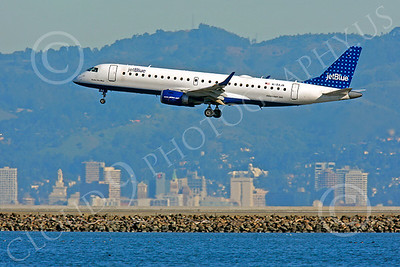 EMB-190 00084 EMBRAER EMB-190 Jet Blue N184JB by Peter J Mancus